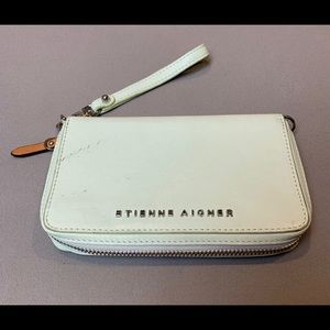 Etienne Aigner Bags - Gently used. Etienne Aigner wallet in mint color